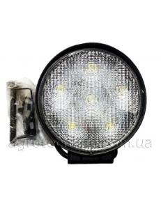 Фара кругла LED 18w (широкий промінь)