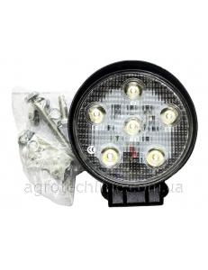 Фара кругла LED 18w (вузький промінь)