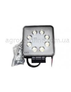 Фара квадратна LED 24w (вузький промінь)