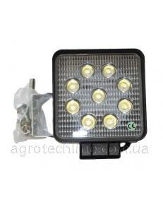 Фара квадратна LED 27w (широкий промінь)