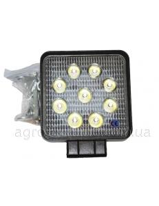 Фара квадратна LED 27w (вузький промінь)