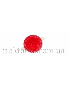Світлоповертач круглий (червоний, пласт.)