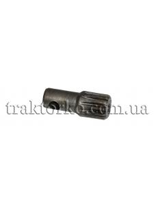 Валик привода насоса-дозатора МТЗ (шліцева частина)