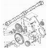 Вал розподільчий Т-40