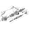 Механізм передачи пускового двигуна